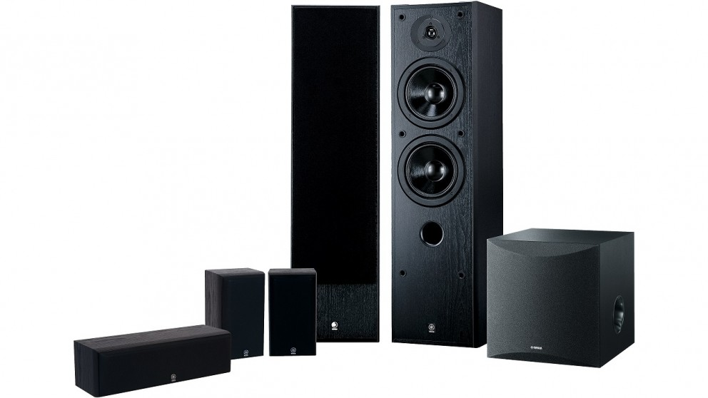 Buy yamaha 5 1 channel speaker package harvey norman au for Yamaha ns 50 speaker pack