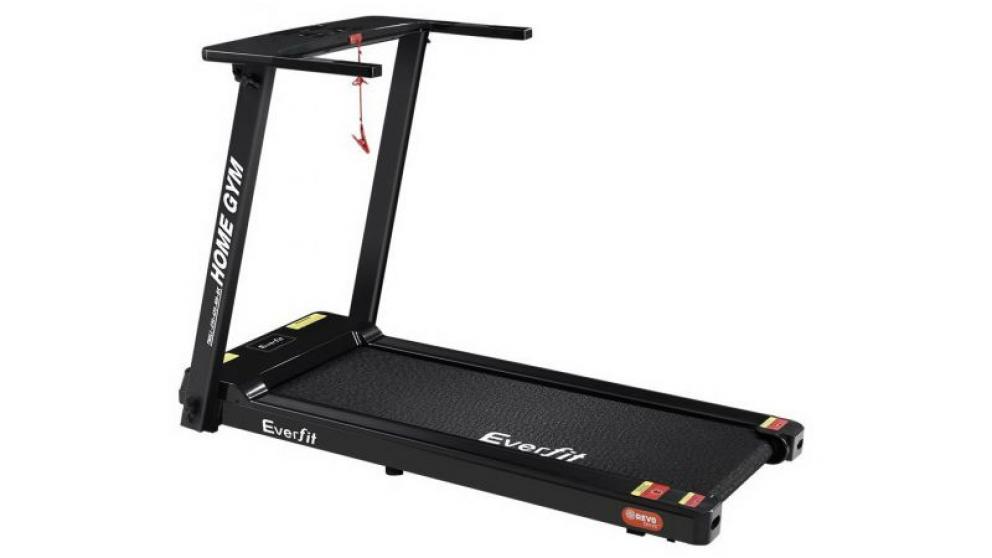 Everfit Electric Treadmill Machine 420mm Belt - Black