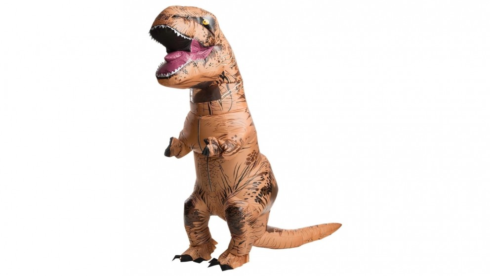 Jurassic World Inflatable T-Rex with Sound Costume for Adults