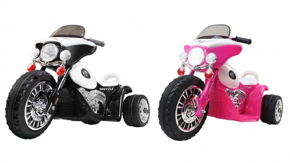 Rigo Kids Ride On Motorbike Police Tricycle