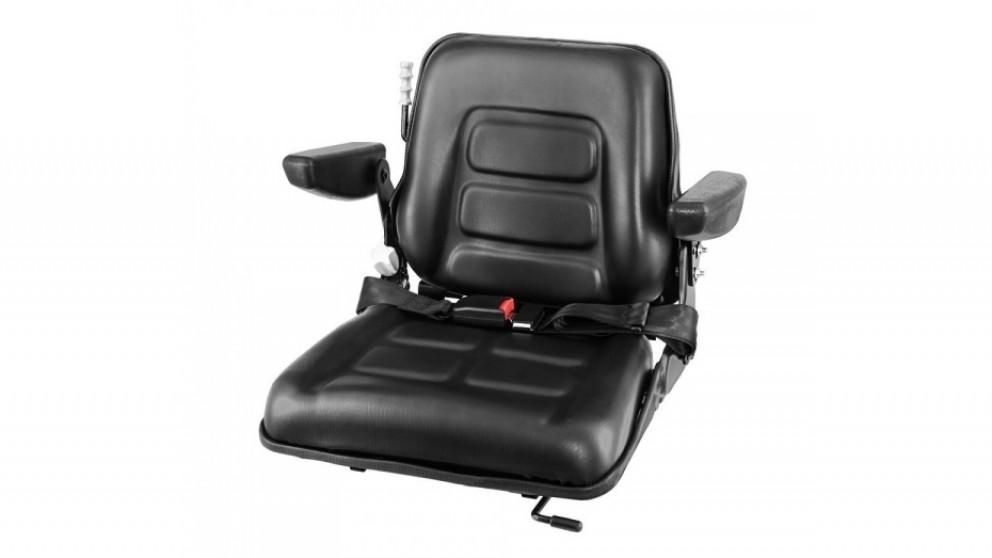 Giantz Universal Forklift Seat with Armrest
