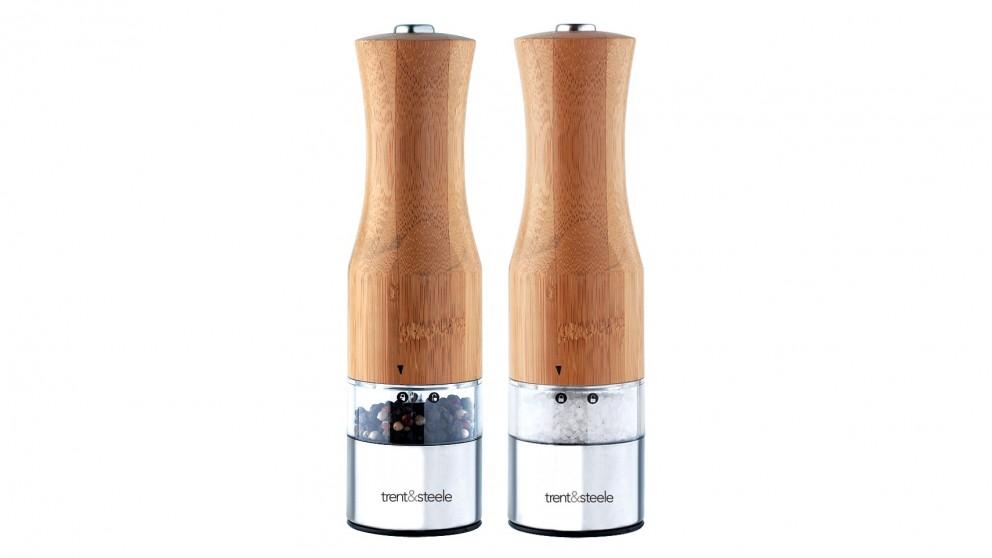 Trent & Steele 2 Piece Salt & Pepper Grinder - Bamboo
