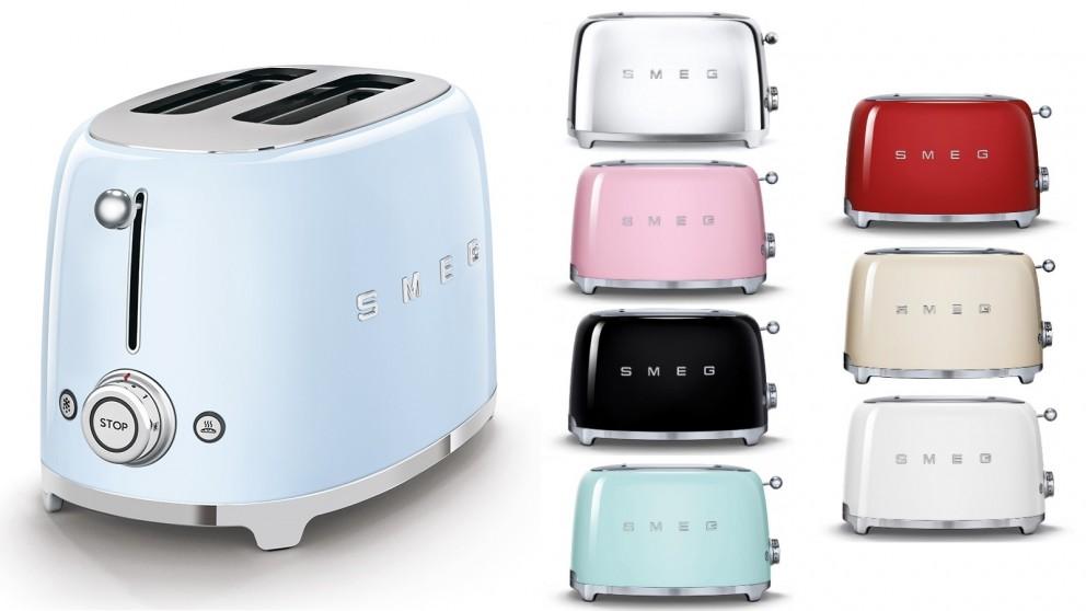 Smeg 50's Style Series 2 Slice Toaster