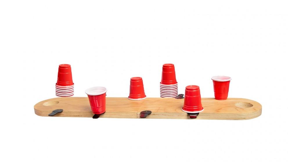 Refinery Flip Cup Mini Wood Game