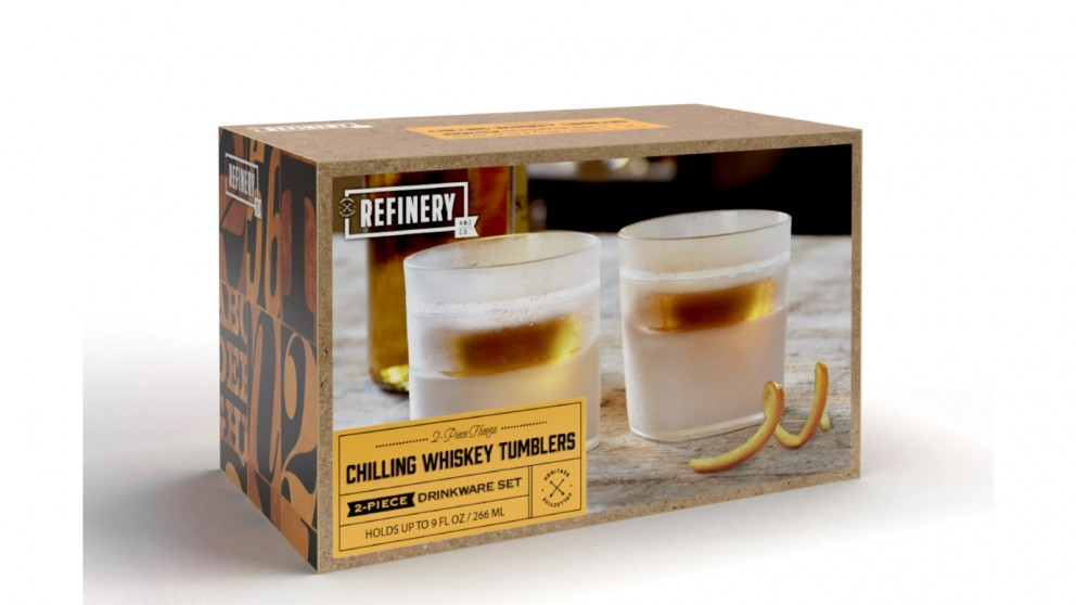 Refinery Whiskey Cooling Glass - Set of 2