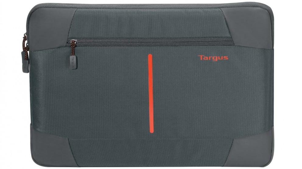 "Targus 13-14"" Bex II Laptop Sleeve - Ebony/Red"