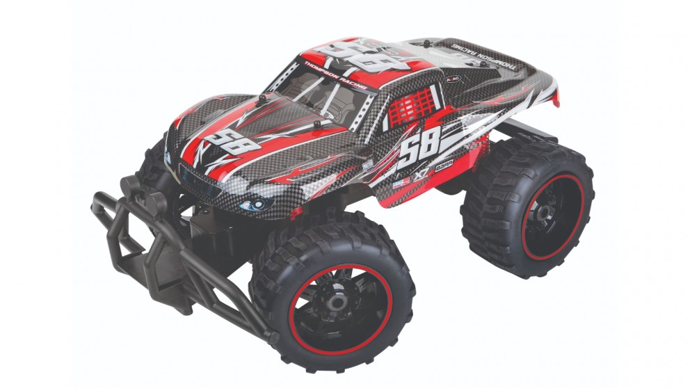 Sharper Image Toy RC Hobby Lite Truck 1:10 12MPH - Red