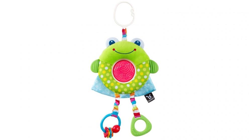 Benbat Dazzle Multi Skills Travel Toy Frog