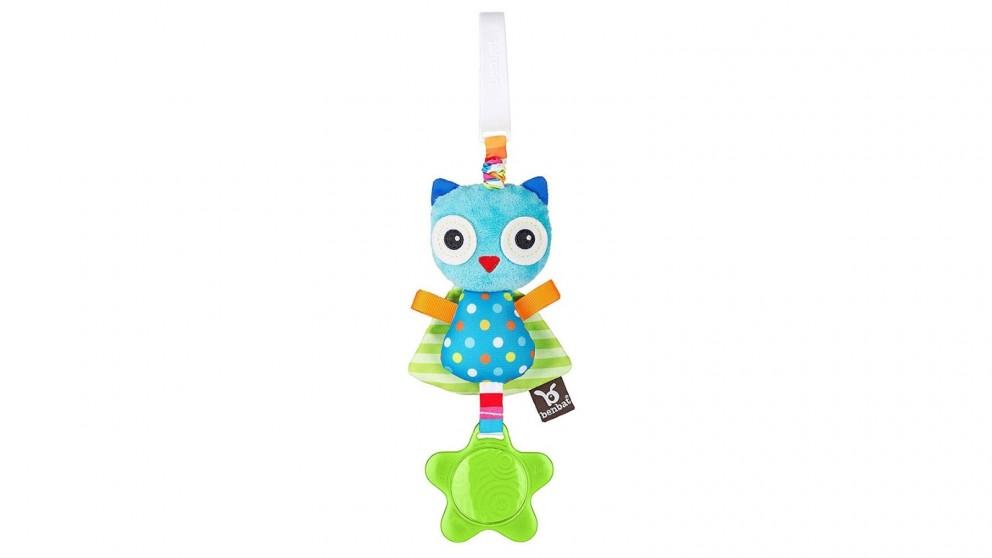 Benbat Dazzle Owl Jitter Toy