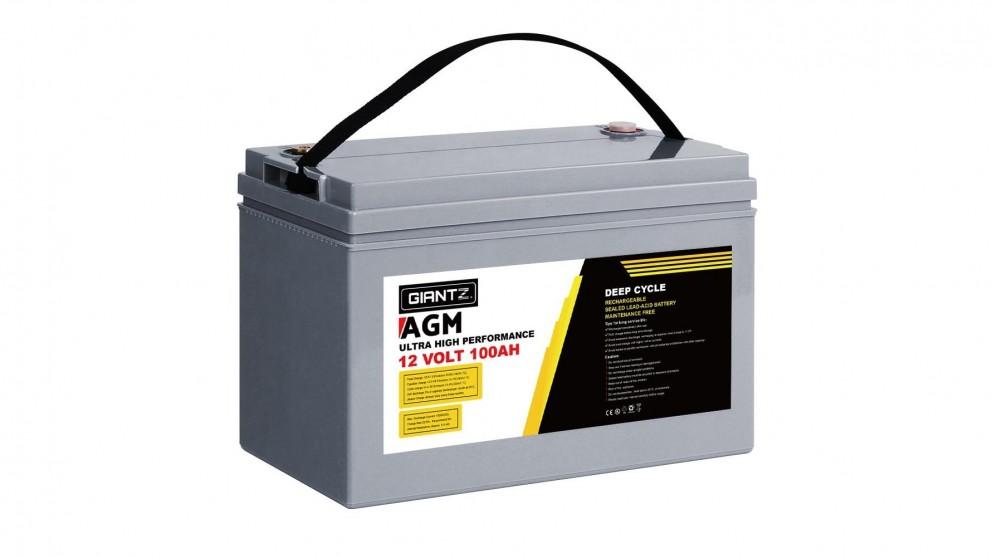 Giantz 100AH Deep Cycle Battery 12VPower