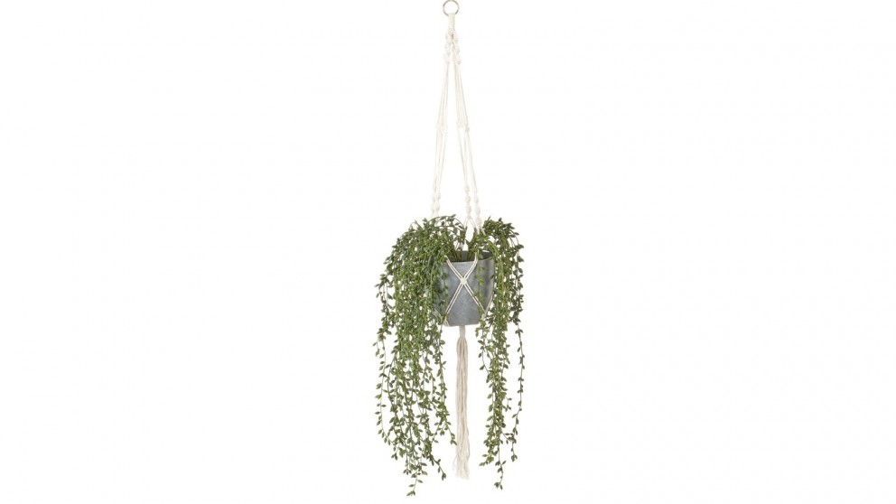Cooper & Co. 90cm Artificial Pearl Hanging Potted Plant