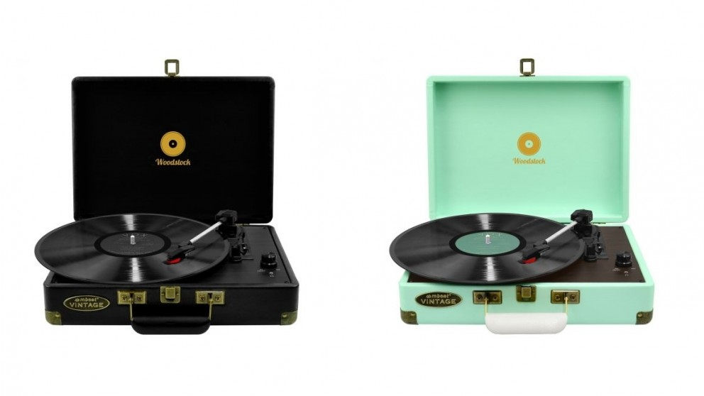 Mbeat Woodstock Retro Turntable