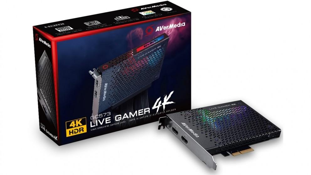 AVerMedia GC573 Live Gamer 4K RGB PCI-E Capture Card