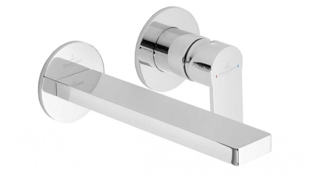 Villeroy & Boch Pura Wall Mounted Basin Mixer Trim Only – Chrome (Requires Inwall Body-TVW00136XB)
