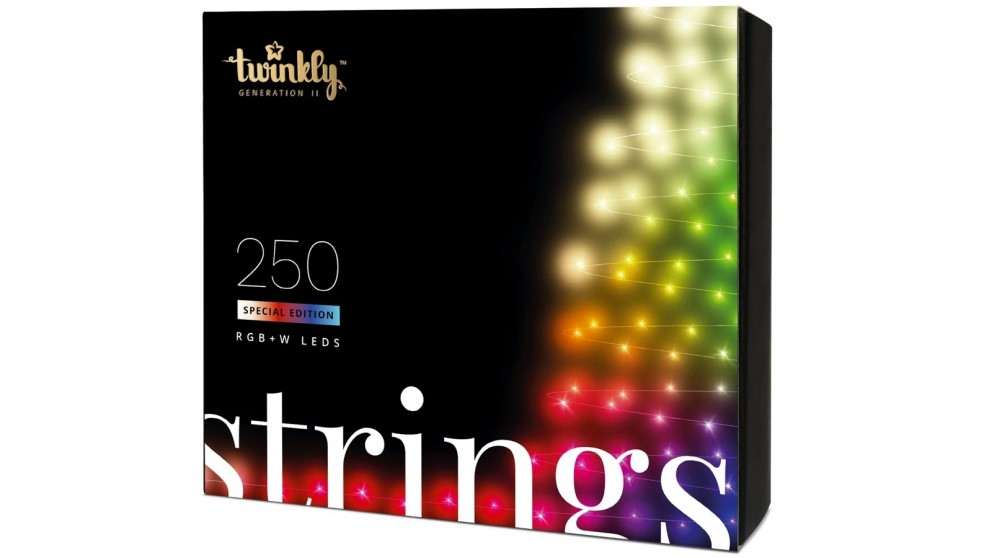 Twinkly 250 RGB+W LED String Light Clear Wire Special Edition Generation II