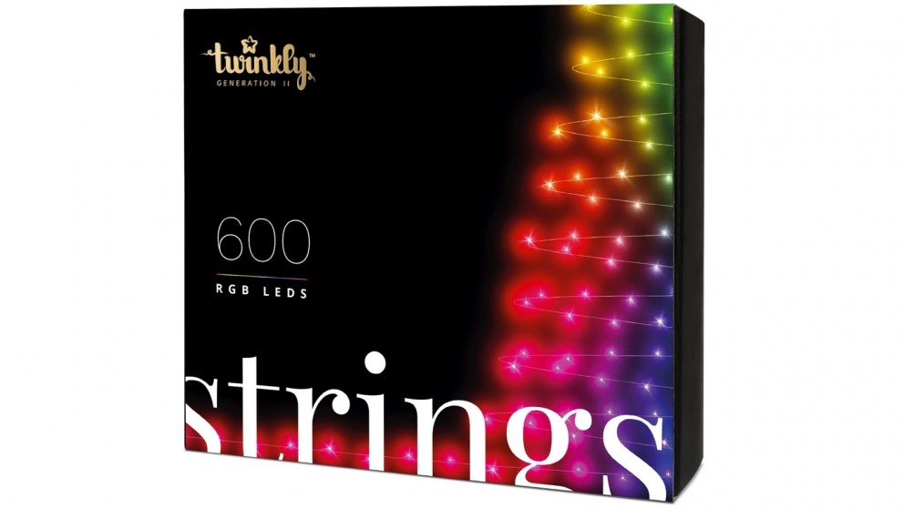 Twinkly 600 RGB LED String Light Generation II