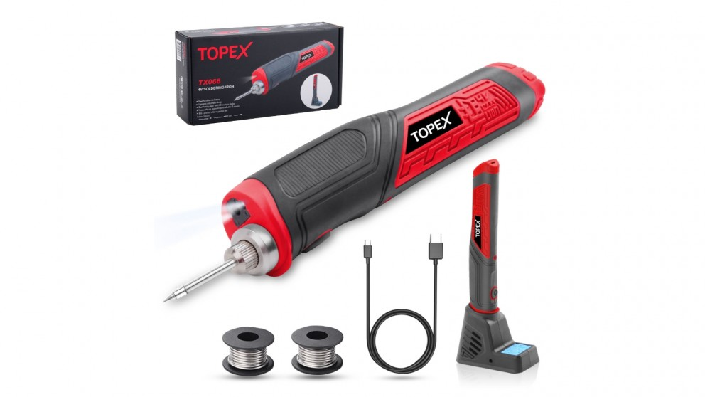 Cordless Soldering 4V Iron with Rechargeable Battery