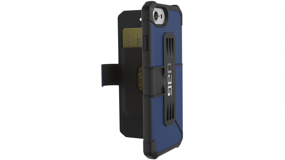 UAG Metropolis iPhone 7/6s Folio Case - Cobalt