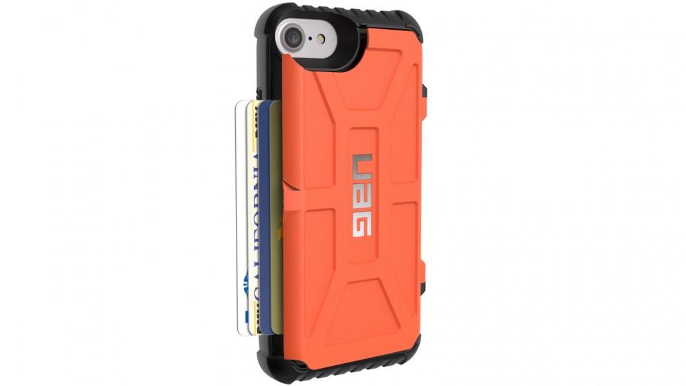 UAG Trooper iPhone 7/6s Card Case - Rust