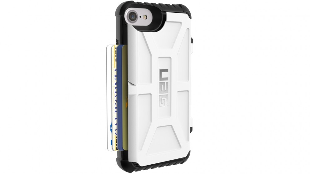 UAG Trooper iPhone 7/6s Card Case - White
