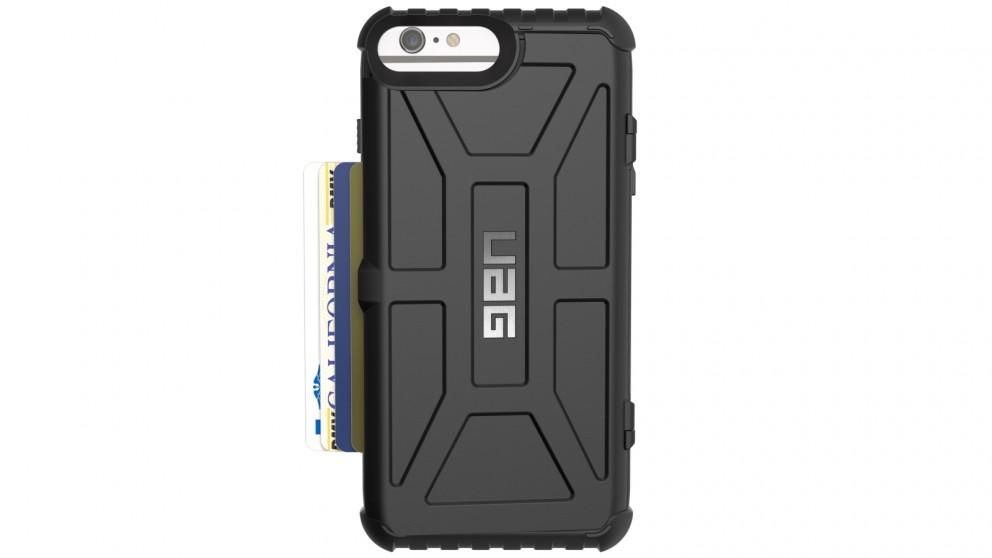 UAG Trooper iPhone 7/6s Plus Card Case - Black