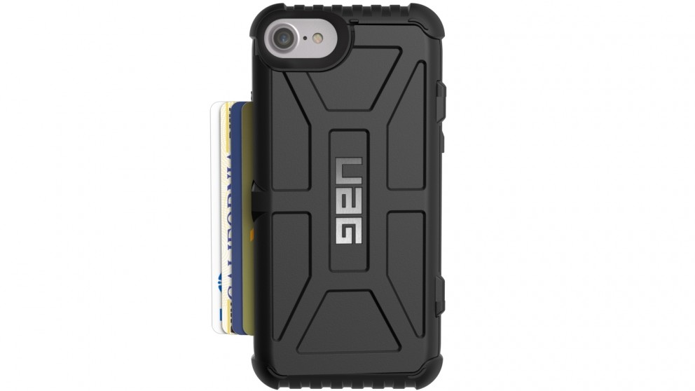 UAG Trooper Card Case for iPhone 8/7/6s - Black