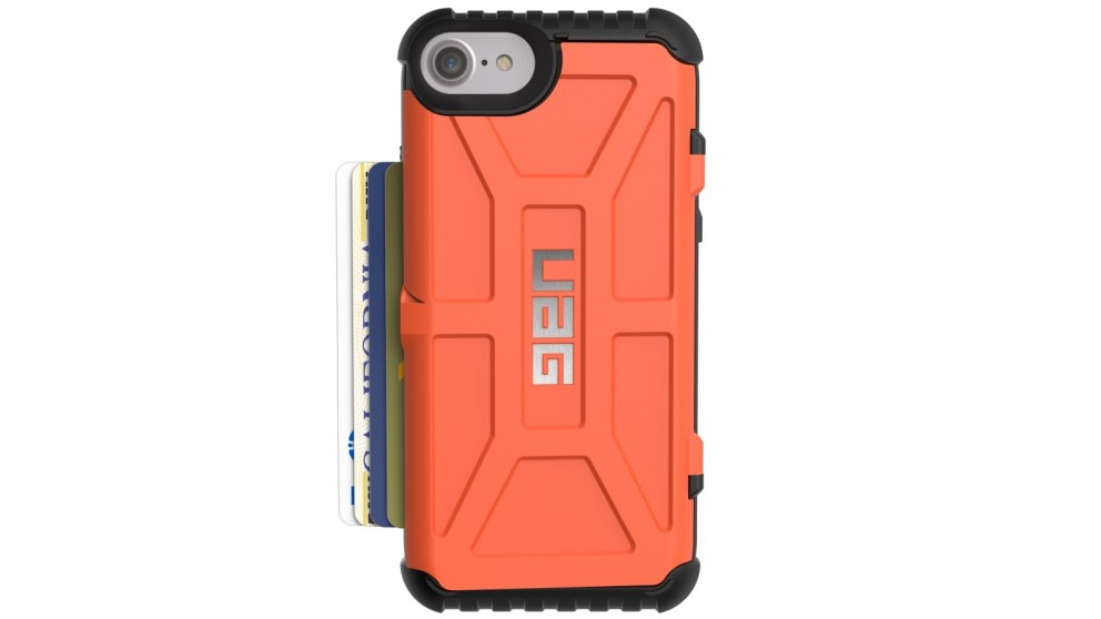 UAG Trooper Card Case for iPhone 8/7/6s - Rust