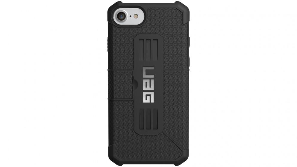 UAG Metropolis Folio Case for iPhone 8 Plus/7 Plus/6s Plus - Black