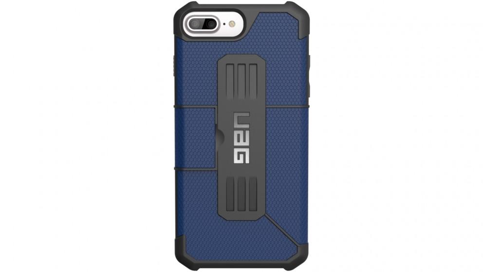 UAG Metropolis Folio Case for iPhone 8 Plus/7 Plus/6s Plus - Cobalt