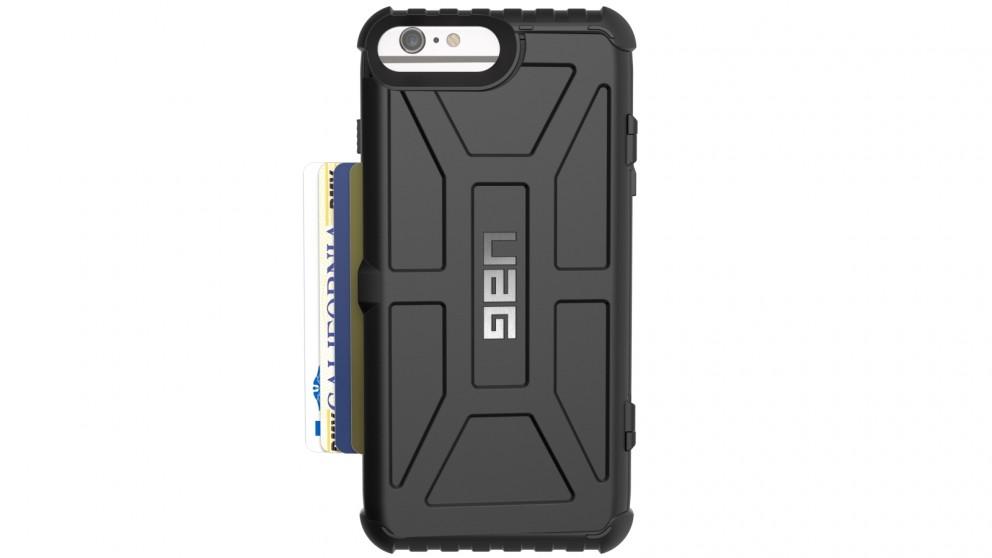UAG Trooper Card Case for iPhone 8 Plus/7 Plus/6s Plus - Black