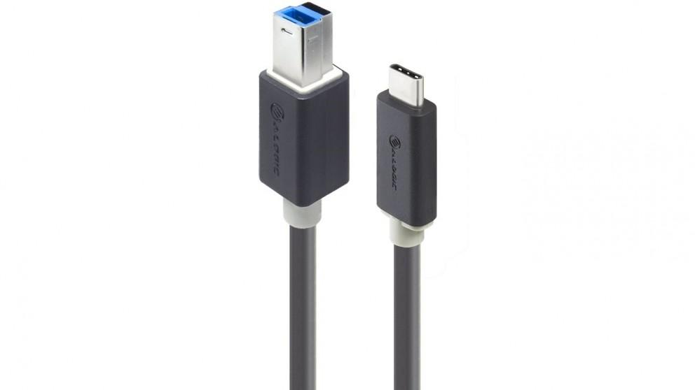 Alogic 1m USB-C USB-B Cable