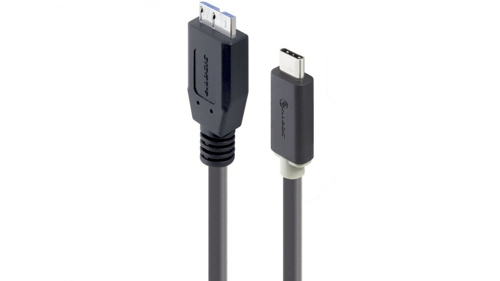 Alogic 1m USB-C to SuperSpeed Micro USB-B Cable
