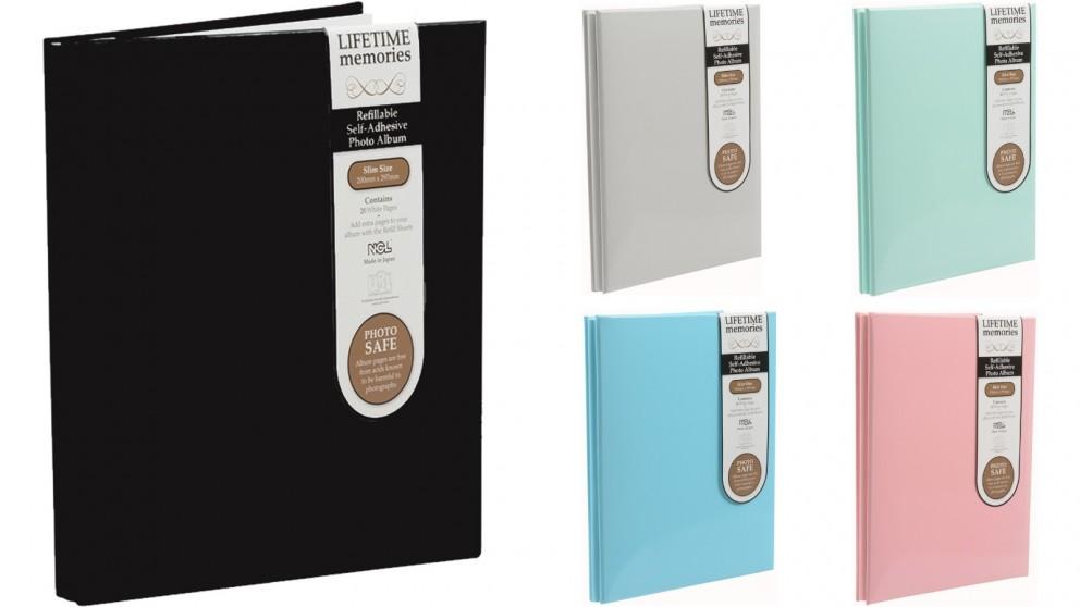 UR1 NCL Self-Adhesive Slim Refillable Album
