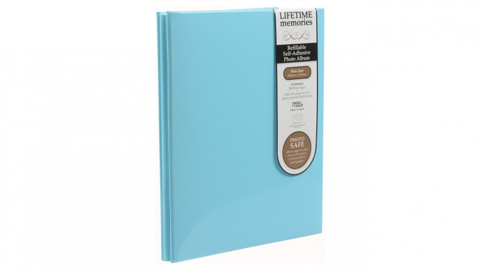 UR1 NCL Self-Adhesive Slim Refillable Album - Blue