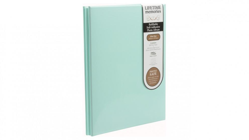 UR1 NCL Self-Adhesive Slim Refillable Album - Green