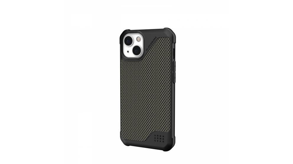 UAG Metropolis LT Case for iPhone 13 - Kevlar Olive