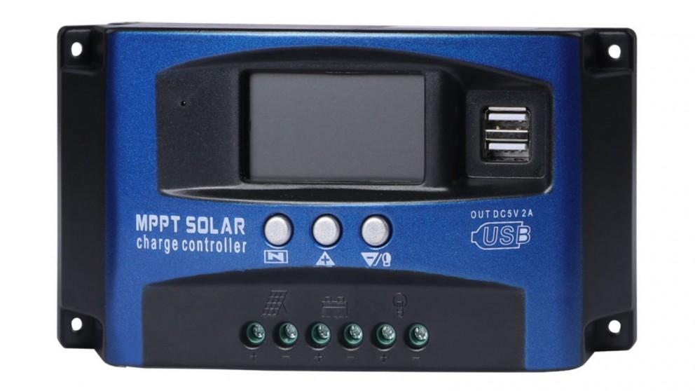 12V 24V Solar Panel Charge Controller - 30A