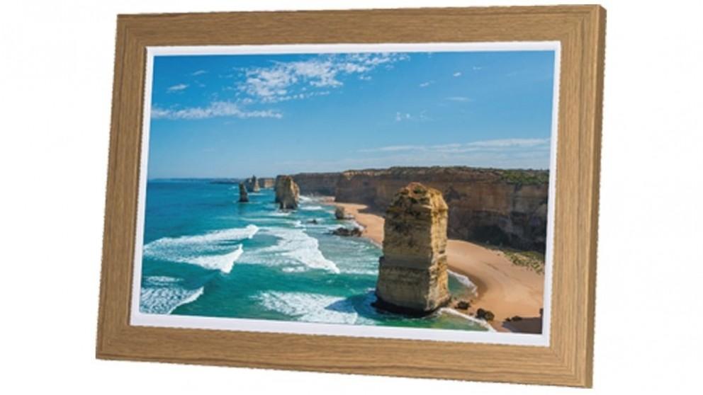 "AVLabs 12"" Digital Photo Frame - Wood"