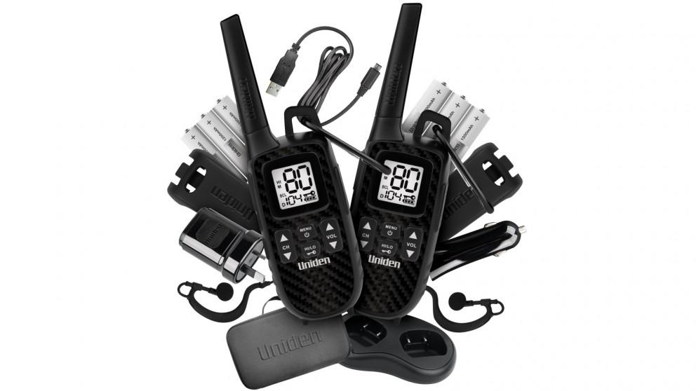 Uniden UH620 Deluxe Pack 2W UHF Handheld Adventure 2-Way Radio
