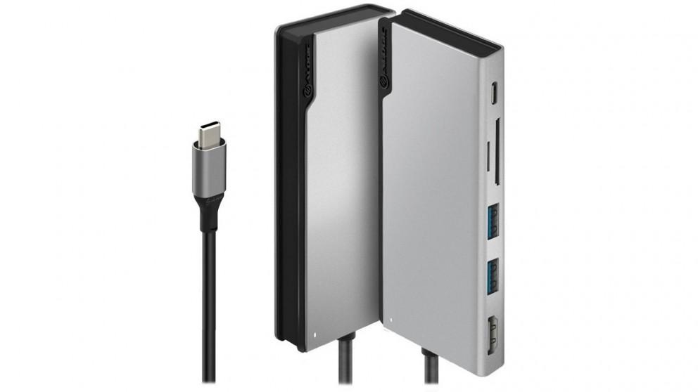Alogic USB-C Dock UNI Docking Station - Space Grey