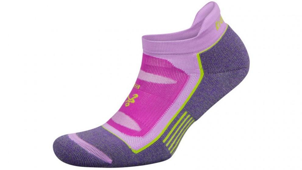 Balega Blister Resist No Show Ultra Violet Socks - Large