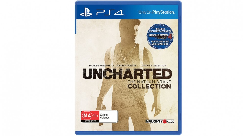 Uncharted: Nathan Drake Collection - PS4