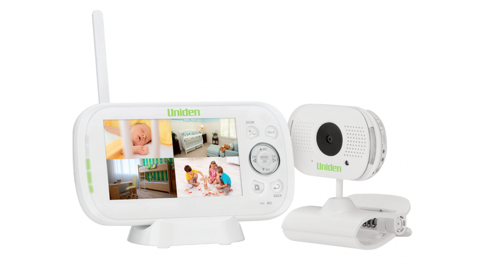 Uniden BW3101 4.3-inch Digital Wireless Baby Video Monitor with Remote Viewing
