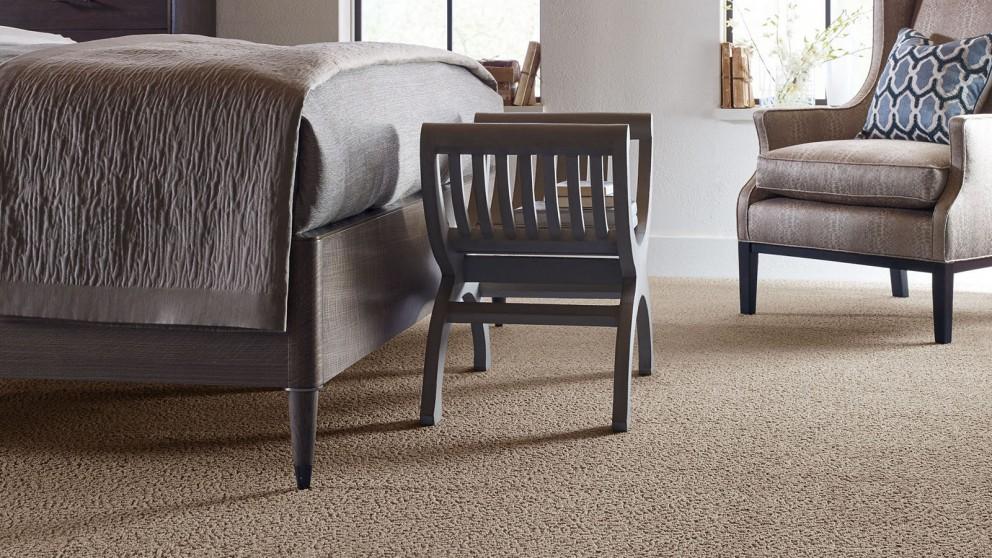 Karastan Unscripted Edge Buckskin Carpet Flooring