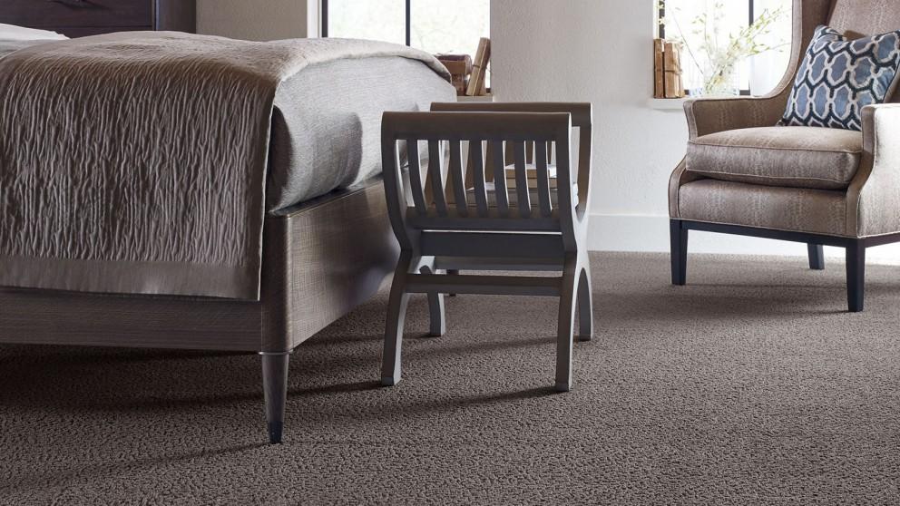Karastan Unscripted Edge Coffee Bean Carpet Flooring