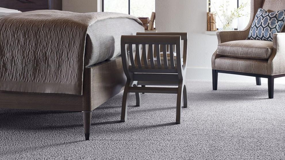 Karastan Unscripted Edge Mystic Fog Carpet Flooring