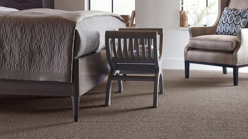 Karastan Unscripted Edge Rich Earth Carpet Flooring