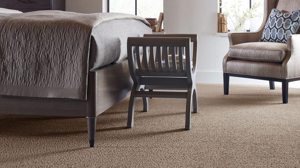 Karastan Unscripted Edge True Taupe Carpet Flooring