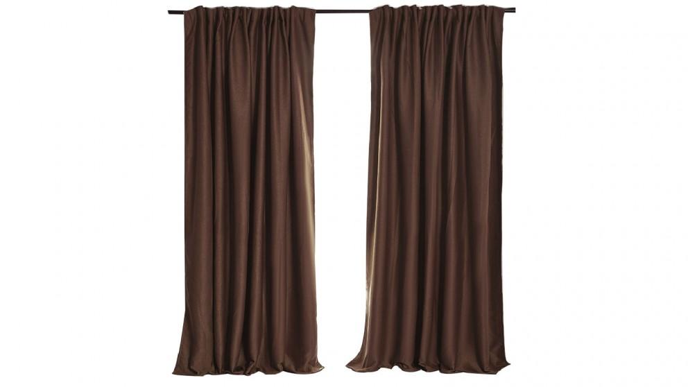 240x230cm Blockout Curtain - Stone