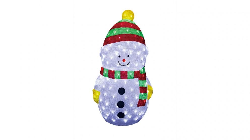 Lexi Lighting Acrylic LED Snowman - Large
